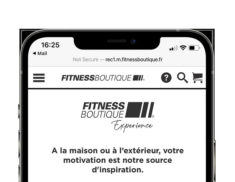 Fitness Boutique Expérience Présentation